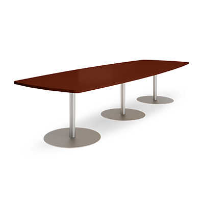 Picture of Groupwork 144in Boat Shaped Conference Table by Steelcase